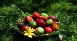 Menu per il pranzo di  Pasqua 2019